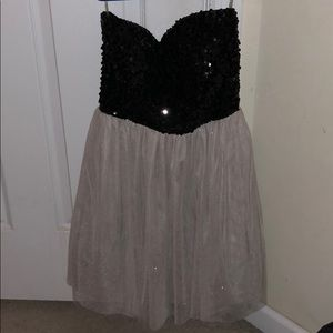Strapless dress from Delia's. Worn once size med